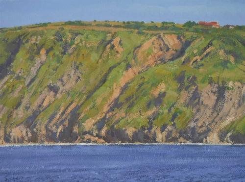 Mulcahy-Bruce-Cliffs-In-Evening-Sun-Runswick-Bay.jpg