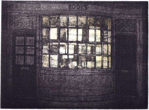 Porter-Glynis-The-old-bookshop-at-dusk.jpg