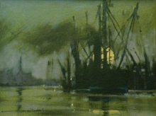 Williams-Tony-Moonrise-Port of London.jpg