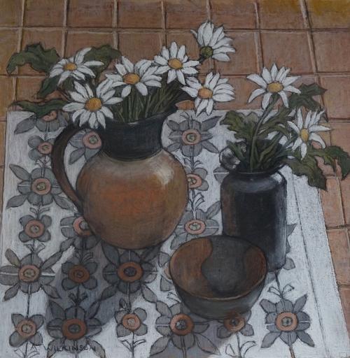 Wilkinson-Ann-White-Flowers-on-a-Patterned-Cloth.jpg