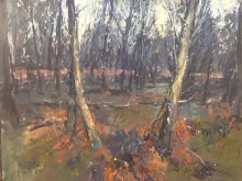 Dellar-Roger-Winter in the Woods 30 x 24Inches £1800.jpg