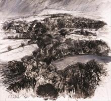 Dutton-Robert-Winter Trees and Pennine Snow.jpg