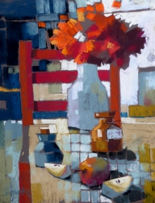 Munro-Jan-Red Chair and Apples.jpg