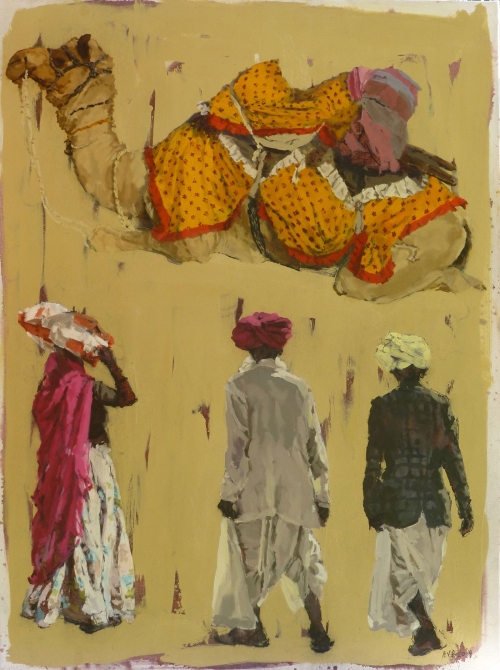 AnnaPinksterCamel-and-three-figures,-Rajasthan.jpg