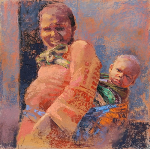 MargaretLarlham-Tanzanian-Mother-And-Child.jpg