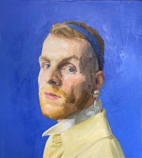 RobertWare-Self-Portrait-Pearl-Earing.jpg