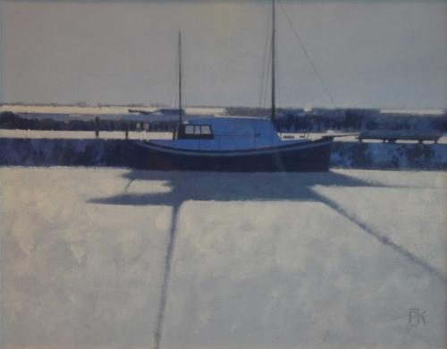Kelly-Peter-Sunlight-on-Snow,-Heybridge-Basin,-Essex.jpg
