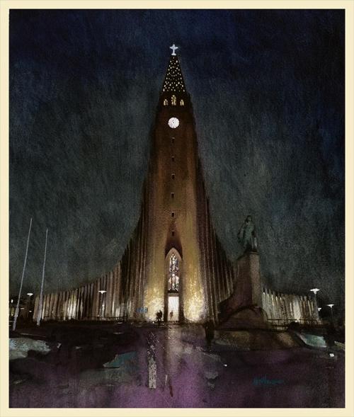 Hornblower-Keith-Hallgrimskirkja, reykjavik.jpg