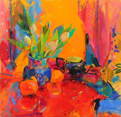 Graham-Peter-Tulips-in-Bloom-(oil-on-canvas).jpg