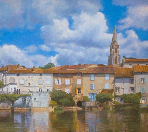 Verrall-Nicholas-Confolens,-Summer-Clouds---Frame-114x126-cm---£9,350-.jpg