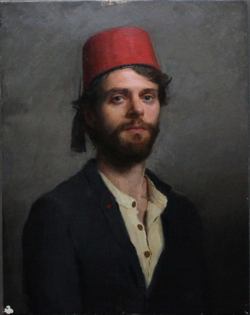 Sandvold-Carl-Martin-Man-with-Red-Hat.jpg