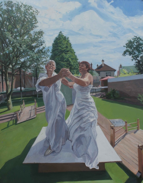 Wonnacott-John-Two-Brides-Together-in-The-Garden-Dancing.jpg