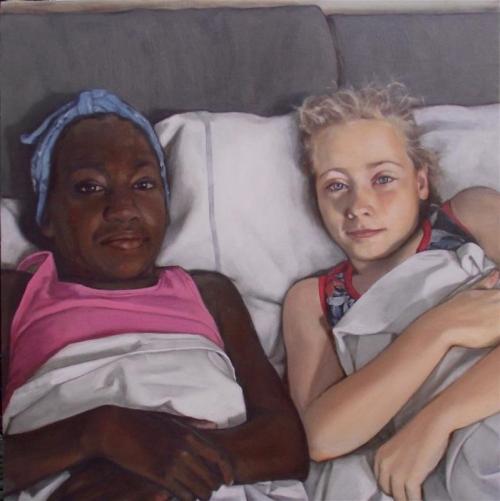 Fellows-Samantha-Portrait of Nuru and Rose After Sleepover.jpg