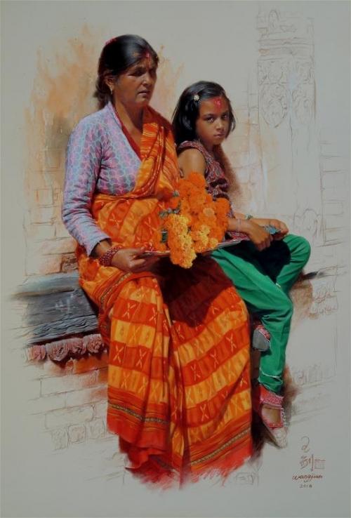 Wang-Jian-Fulpati of Dashain Festival.jpg