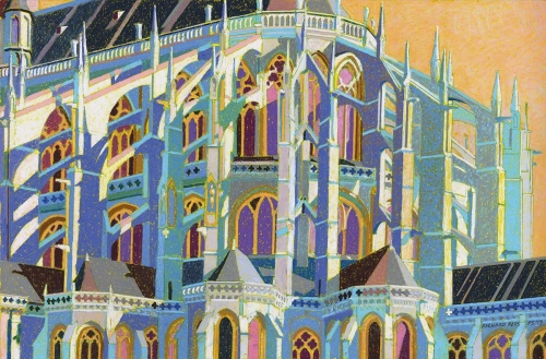 Rees-Richard-Le-Mans-Cathedral-Oil-Pastel.jpg