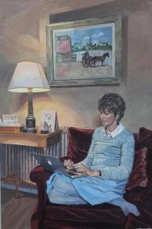 Wonnacott-John-Christopher Wood and The Lady with an Apple.jpg