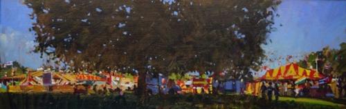 Sawyer-David-Summer-Evening-Benson's-Fairground.-Streatham-Common.jpg
