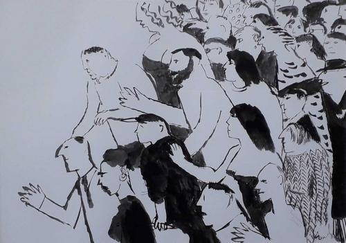 Sorrell-Richard-A-Pushy-Crowd.jpg