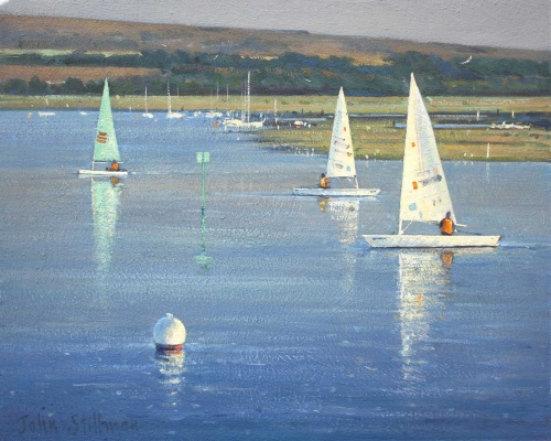 Stillman-John-Sailing-in-the-Harbour-Yarmouth-IOW-xcm.jpg