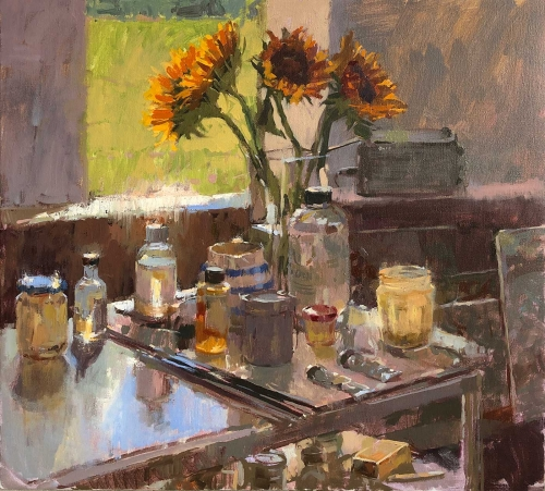 Summers-Haidee-Jo-Sunflowers-in-the-Studio.jpg