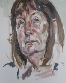 'Maureen', oil on canvas, 30inches x 24inches, £NFS.JPG