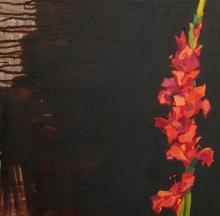 Cabaret, Oil on linen, 40x40cm.jpeg