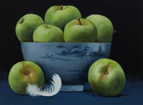 Taber_Jacqueline-Green_Apples_in_Blue_Delft_Bowl.jpg