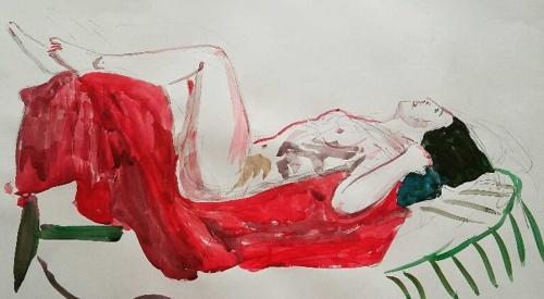 WEB-Maher-Shirley-Relaxing-On-a-Mattress.jpg