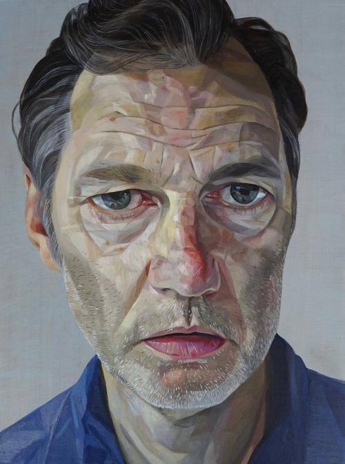 James Hague RP Portrait of the Actor David Morrissey