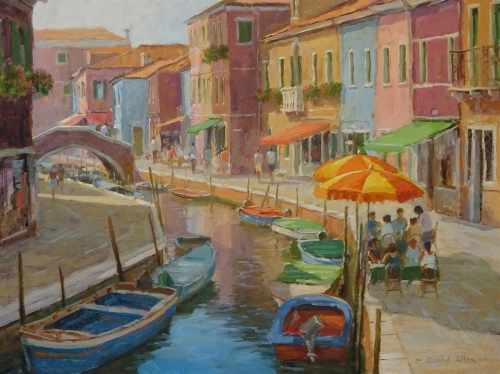 David Allen RSMA Summer in Burano