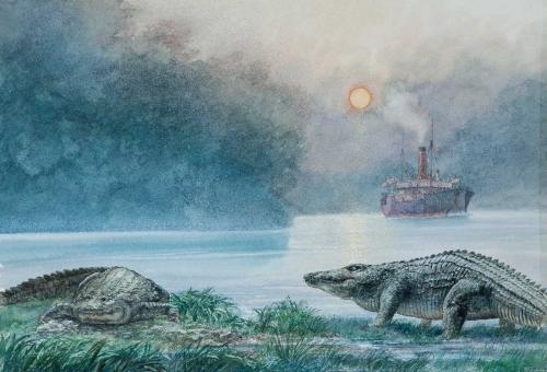 Wright-Paul-Steamship-with-Crocodiles.jpg