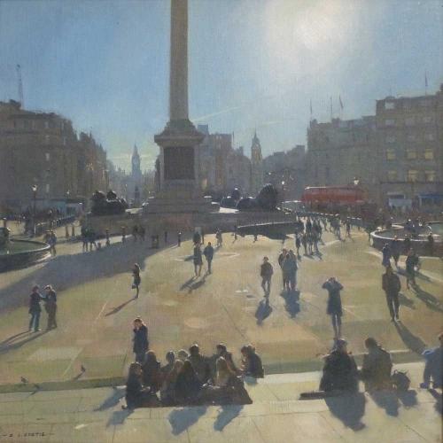 Curtis-David-Midday-Sun---Trafalgar-Square