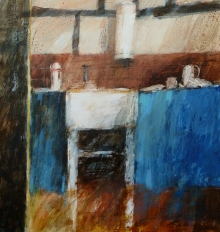 'Farmhouse Kitchen' 57x62cm-Anne McCormack.jpg