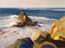 'Longships Lighthouse from Land's End'- Bob Rudd RI