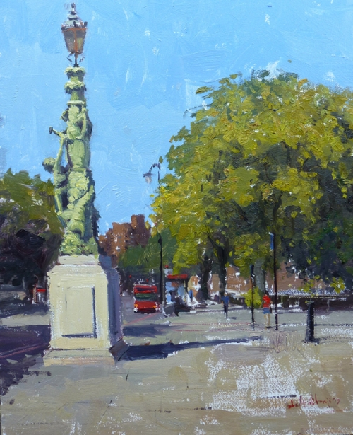 Alade-Adebanji-Summer Light Chelsea Embankment (I).jpg