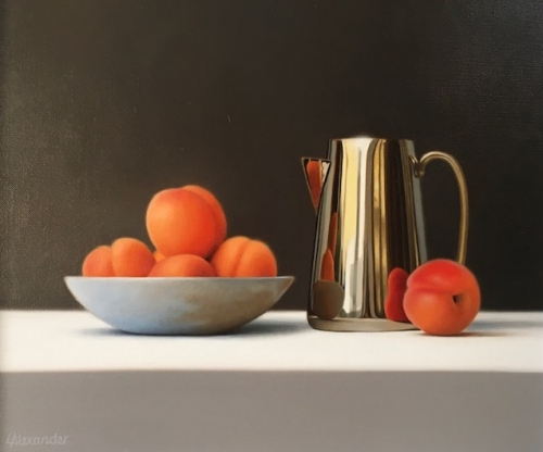 Alexander-Linda-Apricots and Brass Jug.jpg