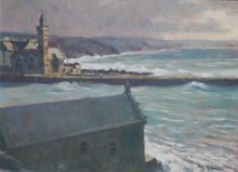 Colin Allbrook, Stormy Day Porth Leven