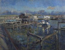 Benjamin-Tom-Newhaven Harbour at Low Tide, Winter Sun.jpg