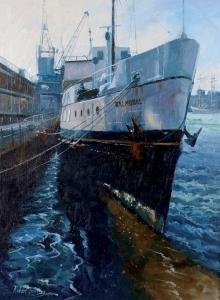 Brindley_Robert_MV Balmoral Bristol Docks.jpg