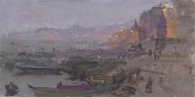 Brown-Peter-Before Sunrise on The Ghat, Varanasi.jpg