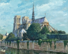Brown-Peter-Morning,-Notre-Dame-from-Pont-de-l'Archeveche.jpg