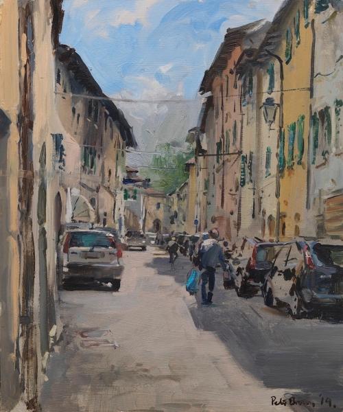 Brown-Peter-Via Santa Catarina Sansepolcro, Tuscany.jpg