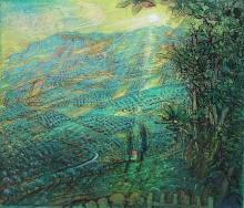 Browne-Piers-Dawn Crete with Fig Tree.jpg