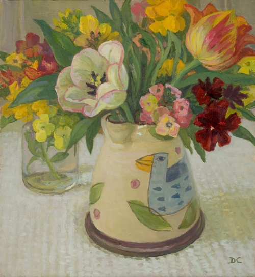 Calvert-Diana-Tulips-and-Wallflowers-in-the-Bird-Jug.jpg