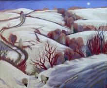 Campion-Sue-Winter Shadows on the Snow Church Pulverbatch.jpg