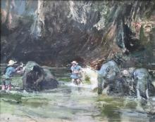 Coates-Tom-Washing the Elephants, Thailand.jpeg