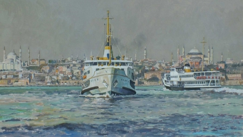 Richard P Cook Istanbul Ferries