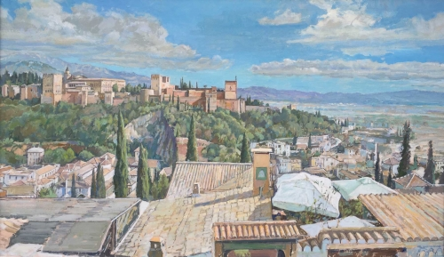 Richard Cook Tales of the Alhambra