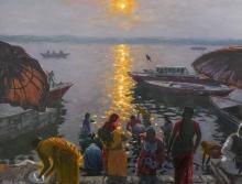 Cullen-Patrick-Offerings-To-The-Rising-Sun,-Varanasi.jpg