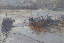 Curtis-David-Bright Light - Staithes Outer Harbour.jpg